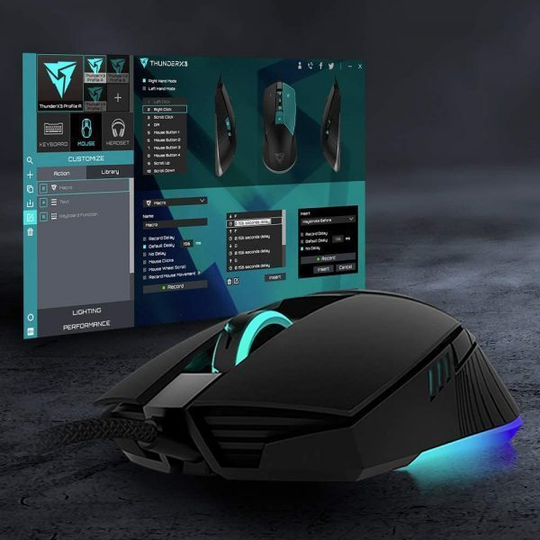 Mouse Gamer ThunderX3 AM7HEX