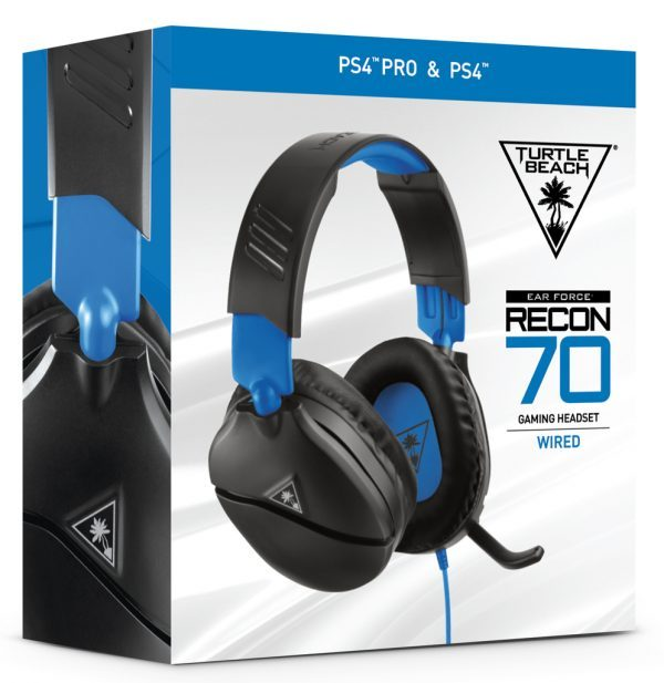 Auriculares Gamer Turtle Beach Recon 70p Ps4