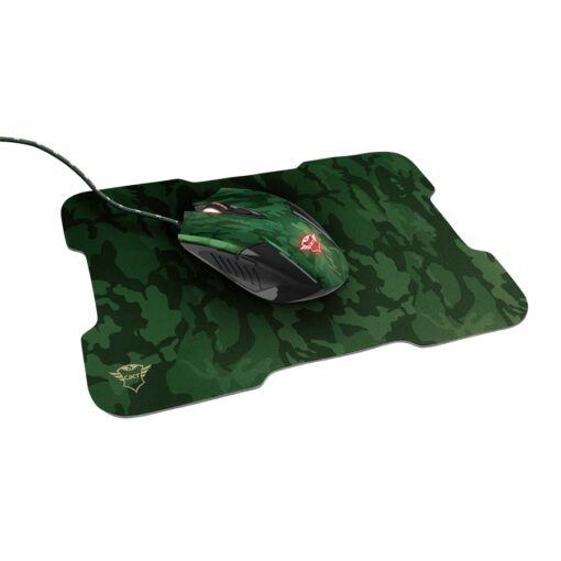 Mouse + Mouse Pad Gamer Trust RIXA
